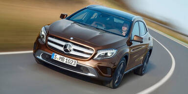 Neuer Mercedes GLA im Fahrbericht