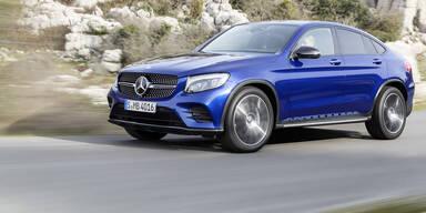 Mercedes GLC Coupé greift BMW X4 an