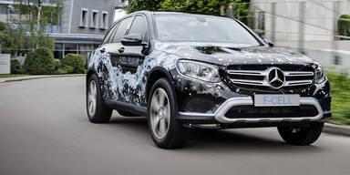 Mercedes GLC kommt mit Brennstoffzelle