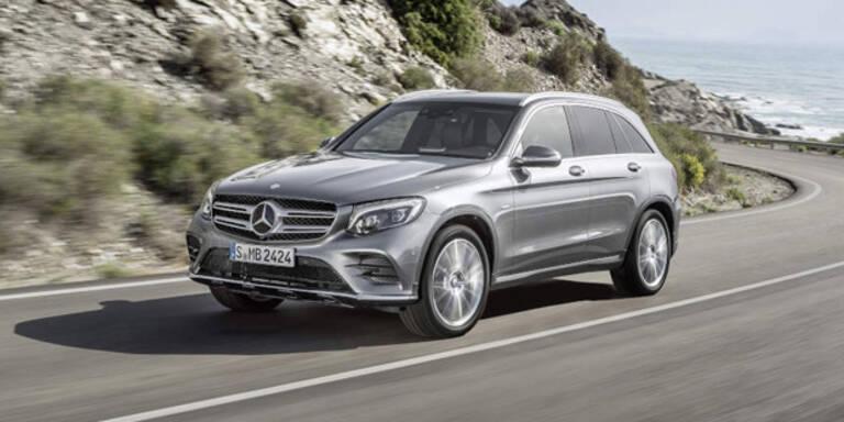 Mercedes stockt GLC-Produktion auf