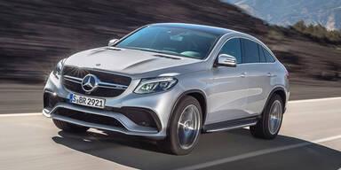Große Mercedes-SUVs gefragt wie nie