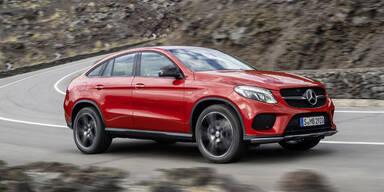 Weltpremiere des Mercedes GLE Coupé