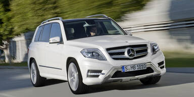 Mercedes frischt den GLK auf