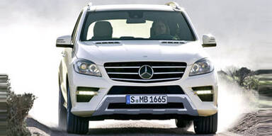 Neue Mercedes M-Klasse: Fotos & Infos