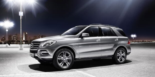 Start für den neuen Mercedes ML 500