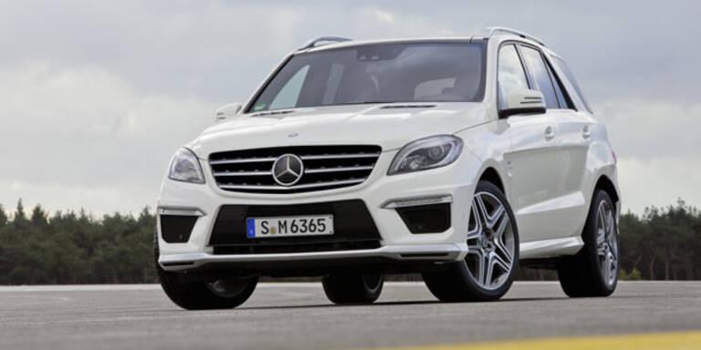 Jetzt kommt der neue Mercedes ML 63 AMG