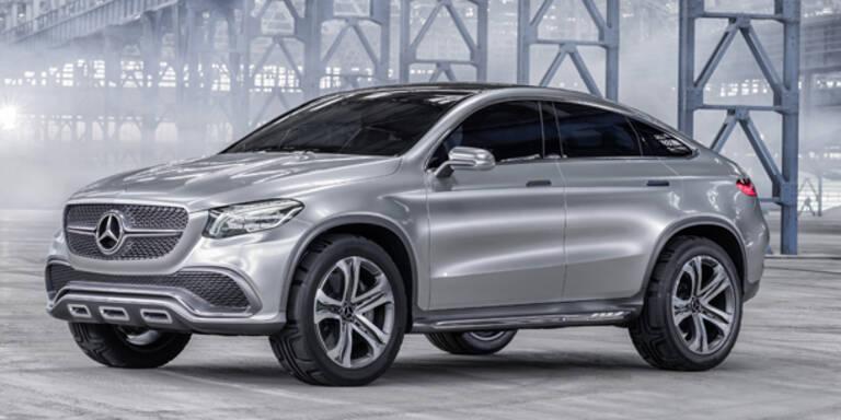 Mercedes MLC greift den BMW X6 an