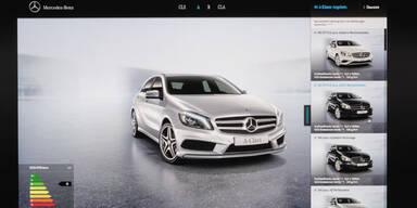 Mercedes verkauft Neuwagen online