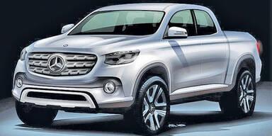 Neue Infos zum Mercedes Pick-up