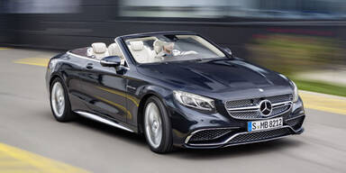 Mercedes bringt das AMG S 65 Cabrio