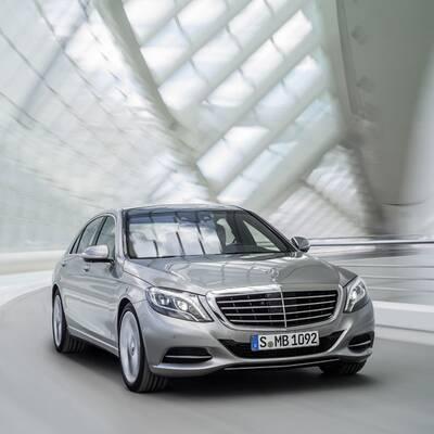 Fotos von der neuen Mercedes S-Klasse (2013)
