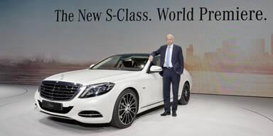 Alle Infos von der neuen Mercedes S-Klasse