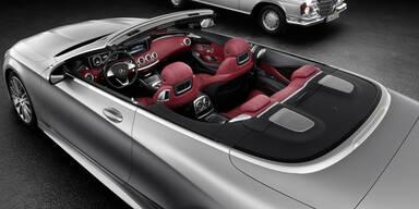So kommt das neue S-Klasse Cabrio
