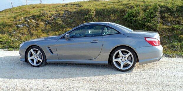 Der neue Mercedes SL500 im Test