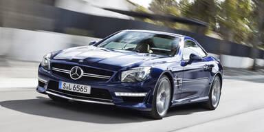 Mercedes stellt den SL 65 AMG vor