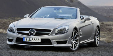 Mercedes bringt den SL 63 AMG an den Start