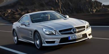 Mercedes bringt den SL 400 an den Start