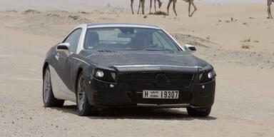 Mercedes SL (2012) Erlkönig: Erste Infos