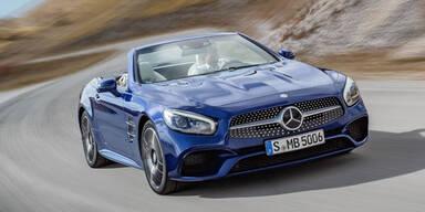 Mercedes verpasst dem SL ein Facelift