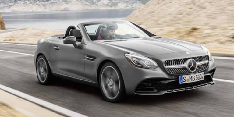 Mercedes SLK wird nun zum SLC