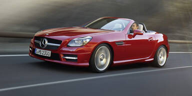 Weltpremiere des neuen Mercedes SLK (2011)