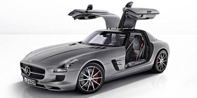 Mercedes stellt den SLS AMG GT vor