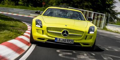 E-Version des SLS AMG knackt Rundenrekord