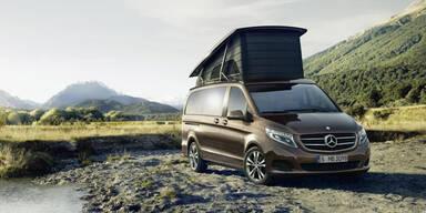 Mercedes bringt V-Klasse Marco Polo