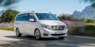 Mercedes bringt V-Klasse mit Allrad