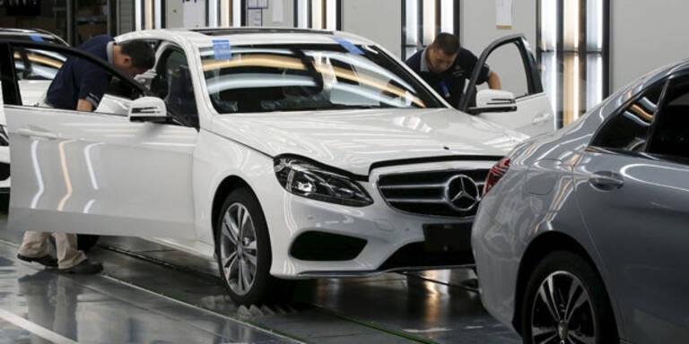 Schwere Zeiten für deutsche Autobauer