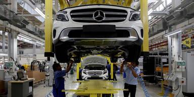 Mercedes zieht derzeit Audi und BMW davon