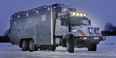 Zetros: Luxus-Vehikel mit 6x6 Antrieb