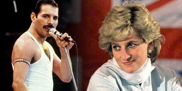 Freddie Mercury lotste Lady Di in Schwulenbar