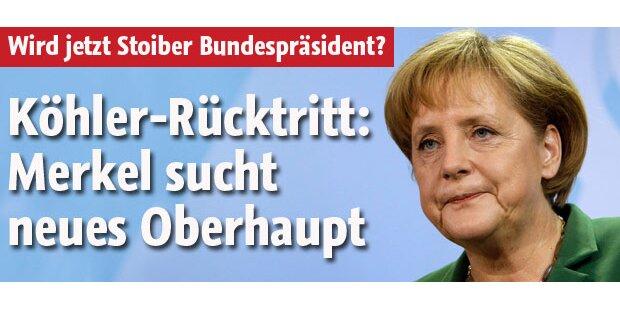 Merkel sucht neuen Bundespräsidenten