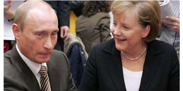 Merkel will auch mit Medwedew zusammenarbeiten