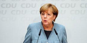 Merkel reagiert auf Wahl-Klatsche