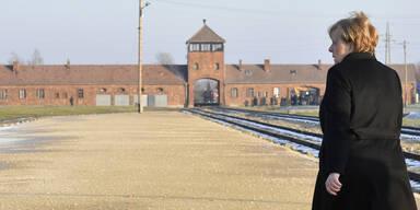 """Merkel in Auschwitz: """"Wir dürfen niemals vergessen!"""""""