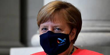 """Merkel will """"Wellenbrecher-Shutdown"""" in Deutschland beschließen"""