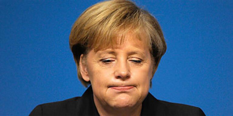 Merkel fast mit Heli abgestürzt