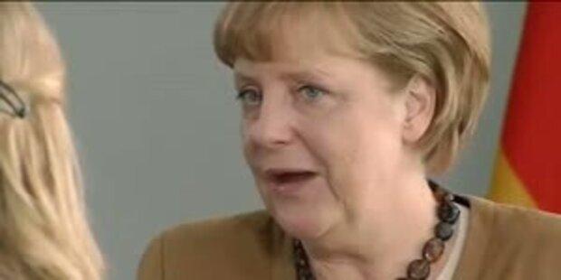 Merkel freut sich auf Gespräche in Wien