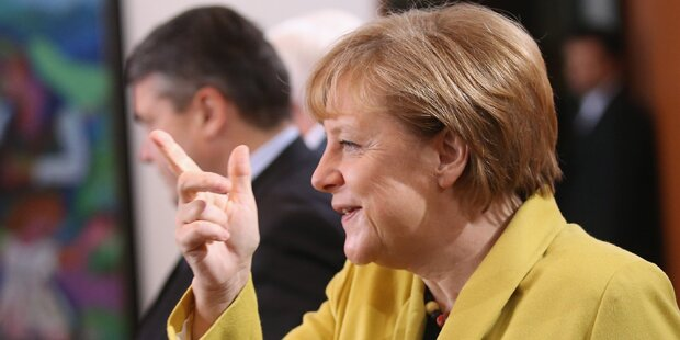Ukrainer hacken Merkels Homepage