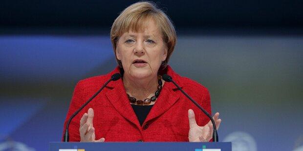 Merkels Neujahrsansprache mit arabischen Untertiteln