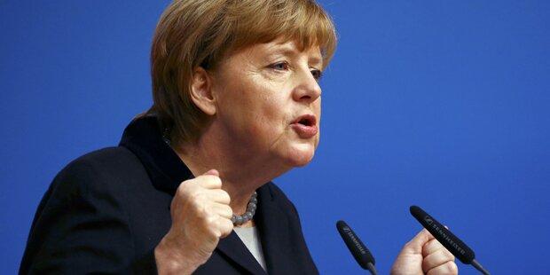 Merkel will weniger Flüchtlinge
