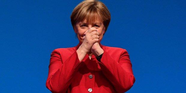 Herber Dämpfer für Merkel bei CDU-Parteitag
