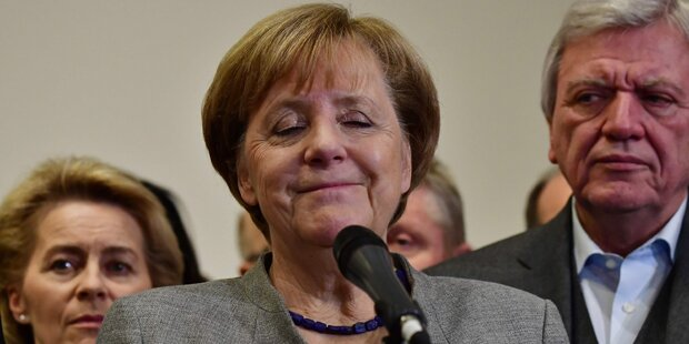 Jeder zweite Deutsche für Abgang Merkels