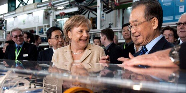 Peking zensiert Kontakte Merkels