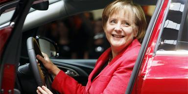 Bundeskanzlerin Angela Merkel gab sich die Ehre