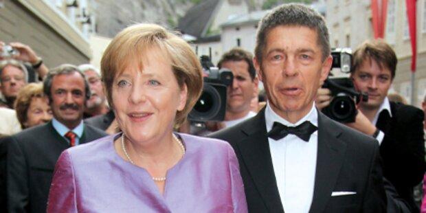 Merkel & Co. im Salzburg-Fieber