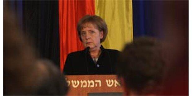 Merkel spricht vor israelischem Parlament