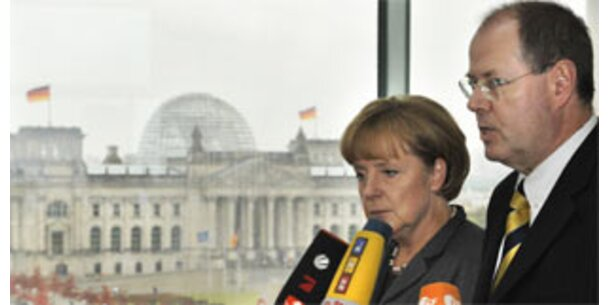 Berlin gibt Staatsgarantie auf Spareinlagen